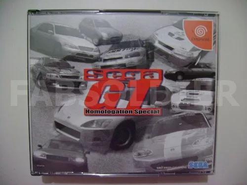 Sega gt original japonês completo c/ spine card!