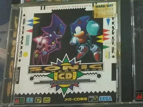 Sonic cd original - sega cd / mega cd