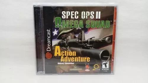 Spec ops 2 omega squad dreamcast original completo