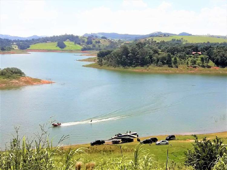 Terreno 1.000 m² com vista e acesso para represa em