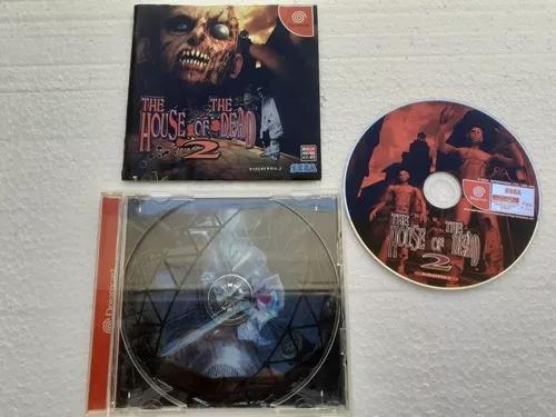 The house of dead dreamcast japones frete gratis 12x s