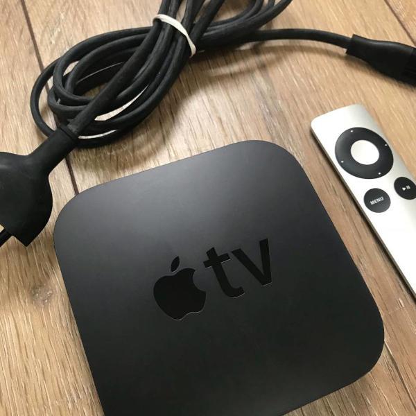 Apple tv 3ª geração 1080p hdmi wi-fi modelo a1469 -