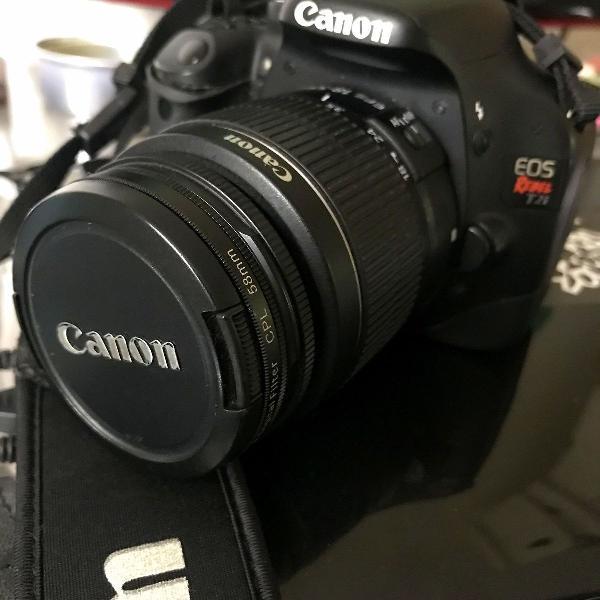 Canon eos t2i + kit