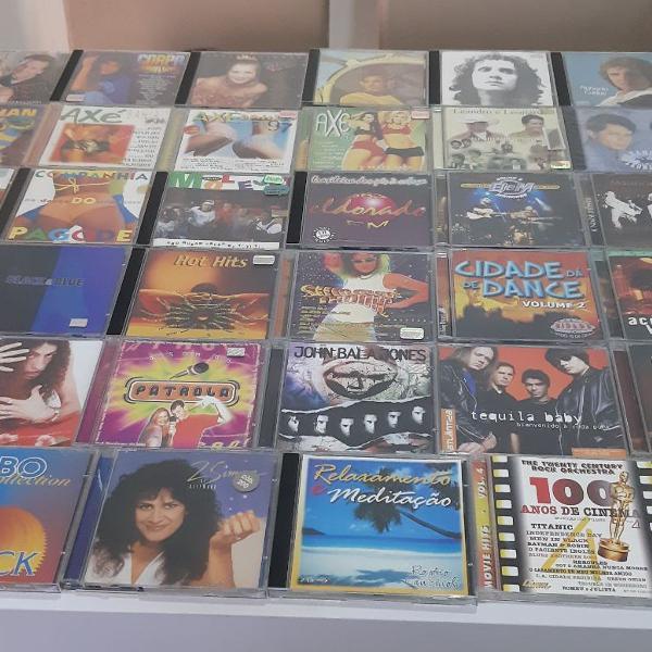 Coleção com 45 cds originais