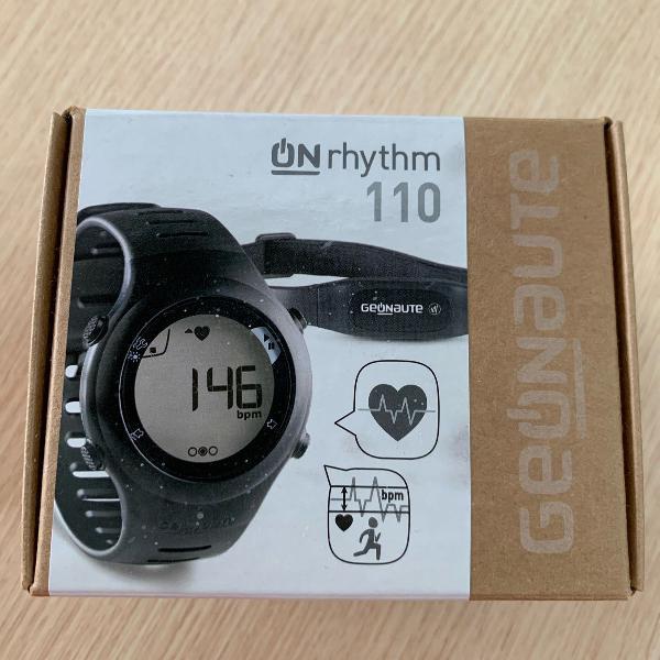 Relógio monitor cardíaco onrhythm 110 black