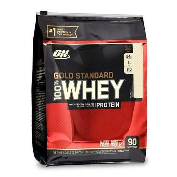 100% whey gold standard 5,46lb - optimum nutrition chocolate