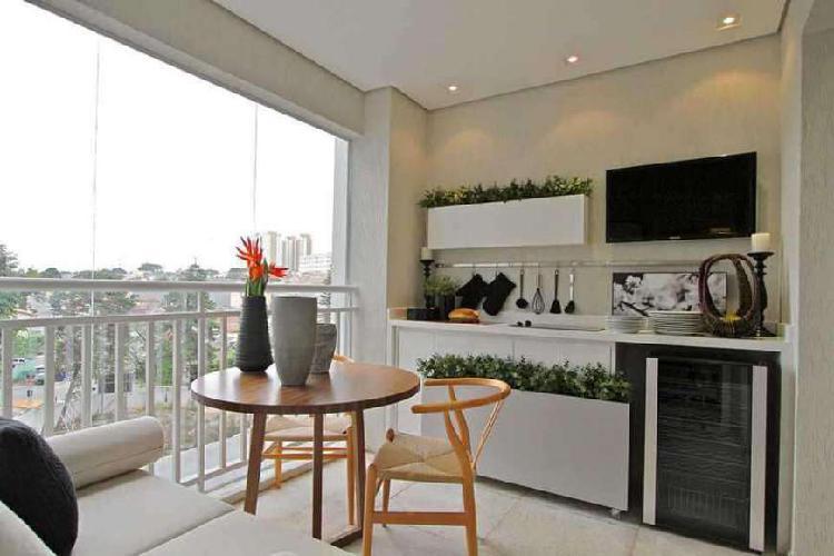 Apartamento 62m² 2dorm com suíte pronto para morar vila