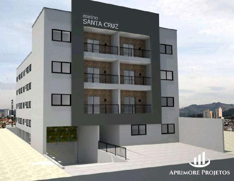Apartamento com 48m2, 2 quartos na Rua Santa Cruz, Santa