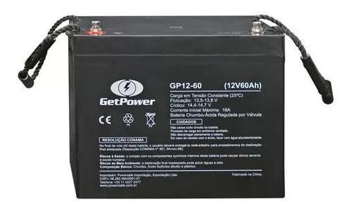Bateria gel selada 12v 60ah agm vrla alarme-seg-nobreak