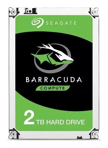 Hd seagate barracuda 2tb 7200rpm cache 256mb sata 3