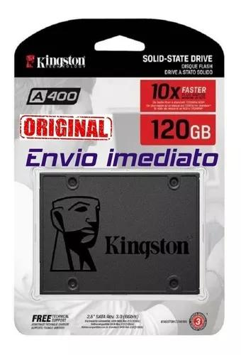 Hd ssd 120gb kingston sata 3 a400 500 mb/s 2,5 original 2