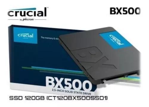 Hd ssd crucial bx500 120gb 3d ata 2.5 interno promoção
