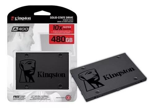 Hd ssd kingston sa400s37/480g lacrado + nf-e + garantia