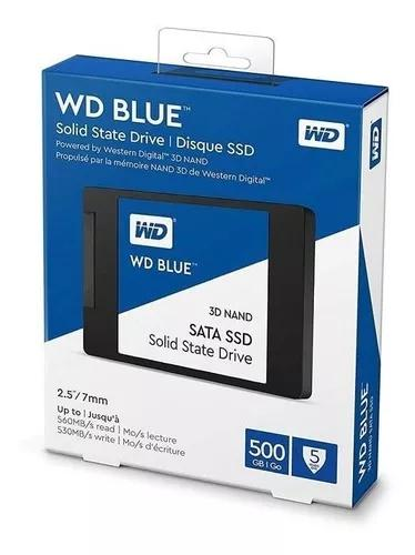 Hd ssd western digital blue 500gb - wd blue