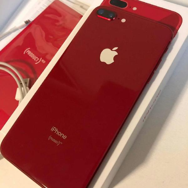Iphone 8 plus 256 gb red completo