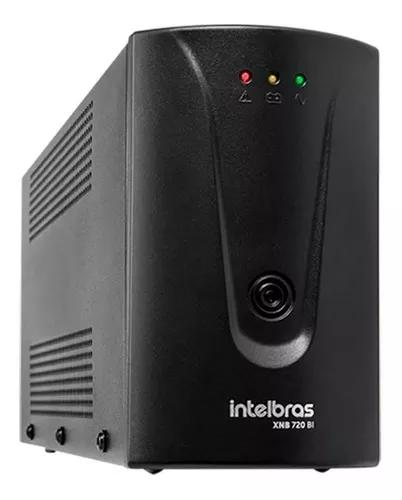 Nobreak intelbras xnb 720va interativo bivolt 110v 220v cftv
