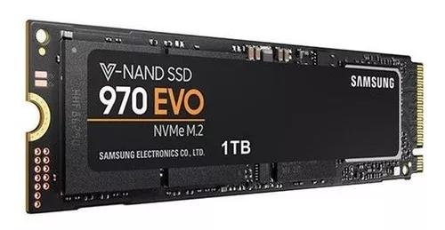 Ssd samsung 970 evo 1tb nvme pcie m.2 pront.entrega original