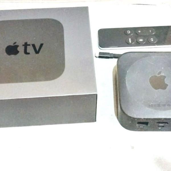 Apple tv 4 geracao o mgy52bz/a 32gb preto