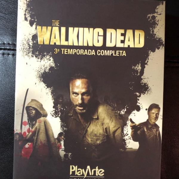 bluray the walking dead 3° temporada original