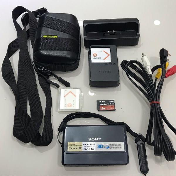 Câmera digital sony cybershot dsc-tx09