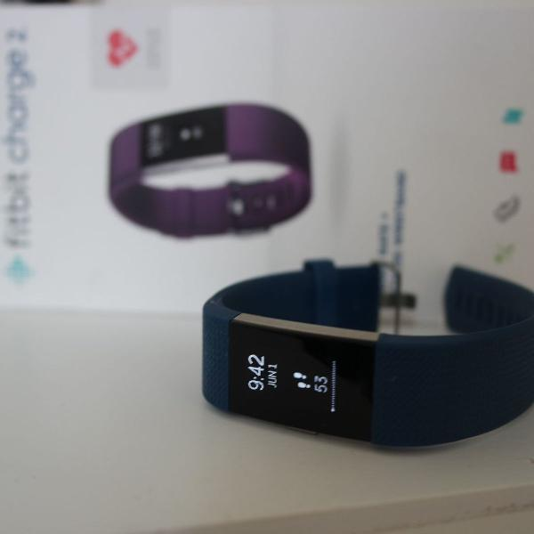 Fit bit charge 2 relógio pulseira fitness