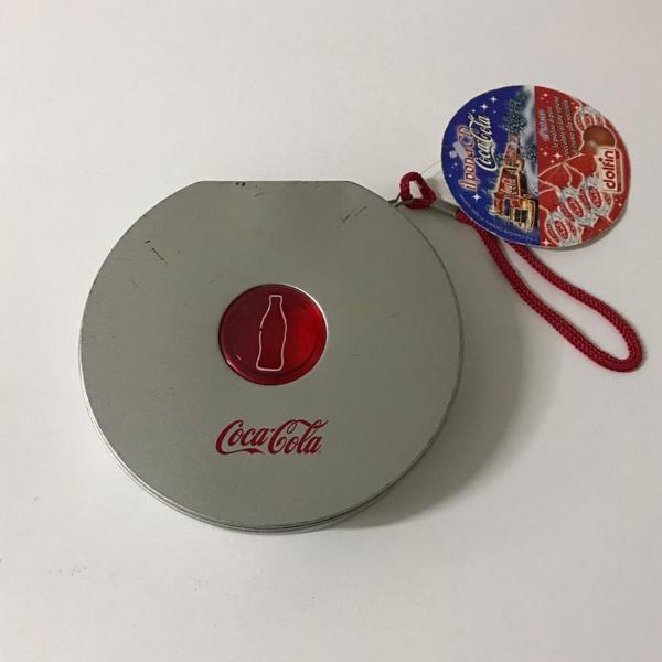 Porta cds coca cola original da itália