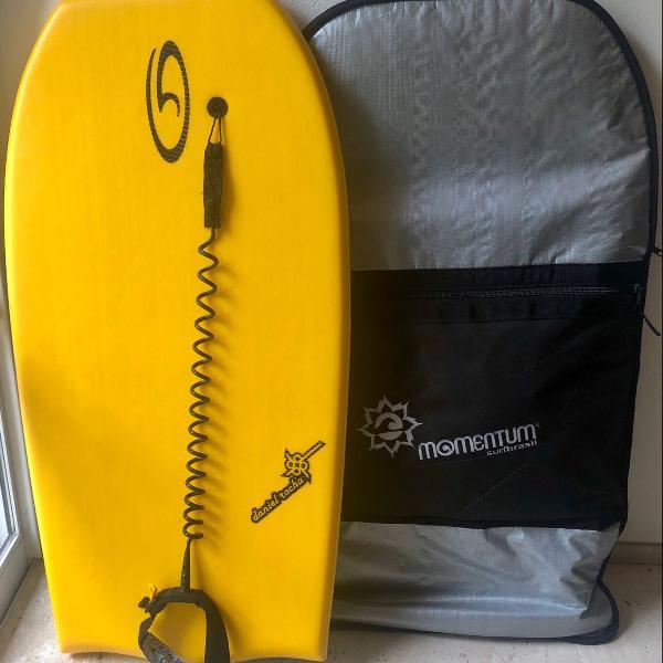 Prancha bodyboard daniel rocha fiber stringer