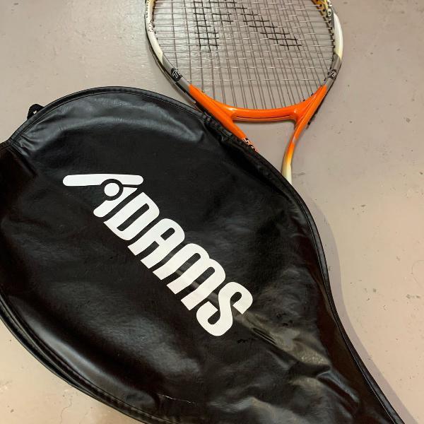 Raquete de tennis adams laranja