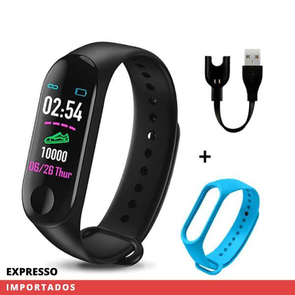 Smartband - mede pressão arterial batimentos - completo +