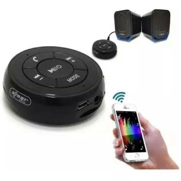 Adaptador áudio bluetooth central multimídia knup