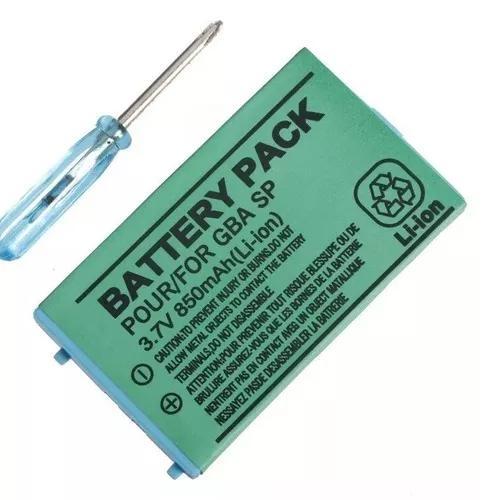 Bateria para nintendo gameboy advance sp bboy