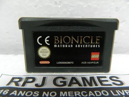 Bionicle lego original europeu p/ gba game boy advance