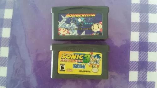Bomberman story + sonic advance 3