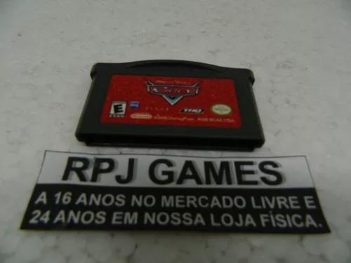 Cars carrinhos original p/ gba game boy advance - loja rj