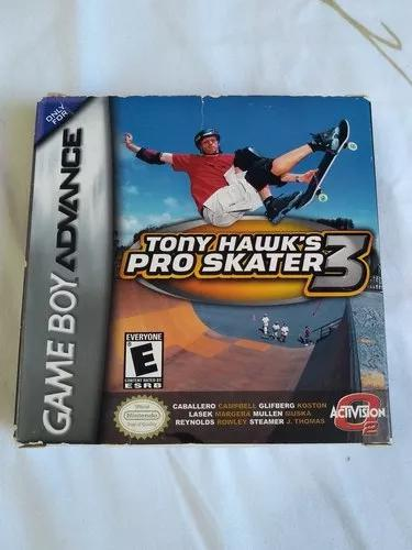 Cartucho tony hawk 3 original - game boy advance gba
