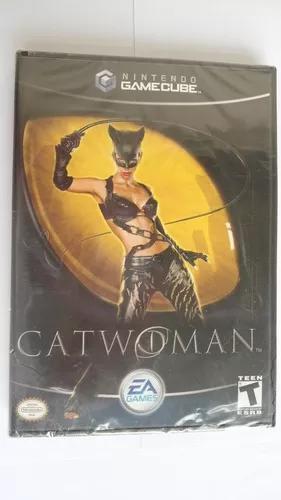 Catwoman mulher gato nintendo gamecube lacrado ea games