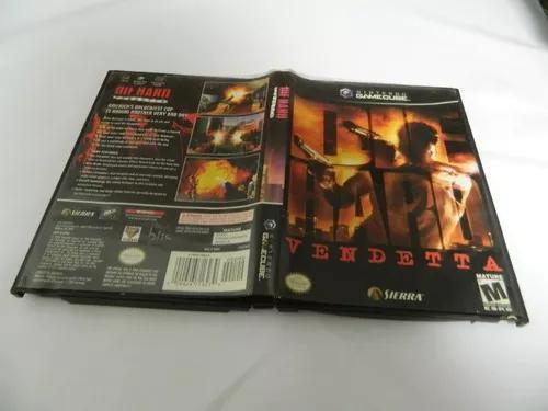 Die hard vendetta - original para game cube - completa