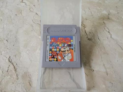 Dr. mario original para game boy + case! cr