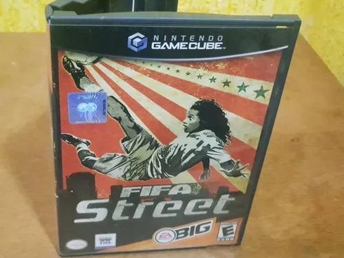 Fifa street usado manuais nintendo game cube