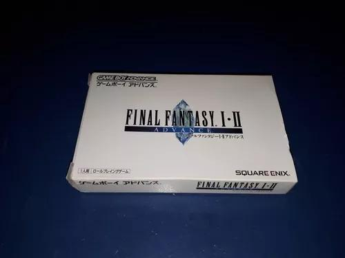 Final fantasy 1 e 2 dawn of souls japonês - gba gameboy