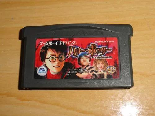 Game boy advance harry potter japones gba japan nintendo