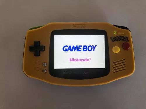 Game boy advance pokémon edition com backlight