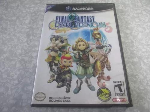 Game cube - final fantasy crystal chronicles - original