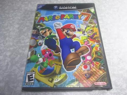 Game Cube - Mario Party 7 - Original - Mídia S