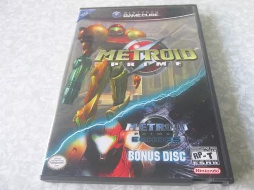 Game cube metroid prime c/ bonus disc - original s