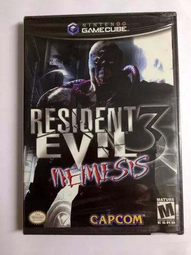 Game cube resident evil 3 novo lacrado black label.