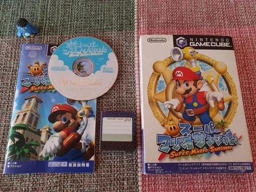 Game cube super mario sunshine original japonês