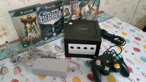 Gamecube americano completo metroid prime star wars rogue
