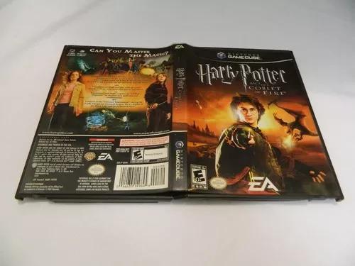 Harry potter goblet fire original para game cube - completa