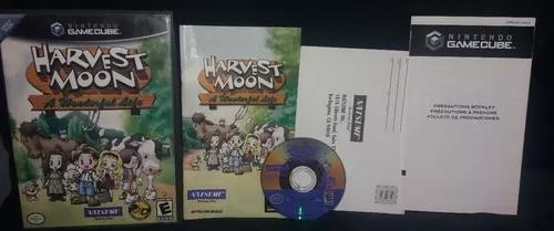 Harvest moon: a wonderful life - original - game cube